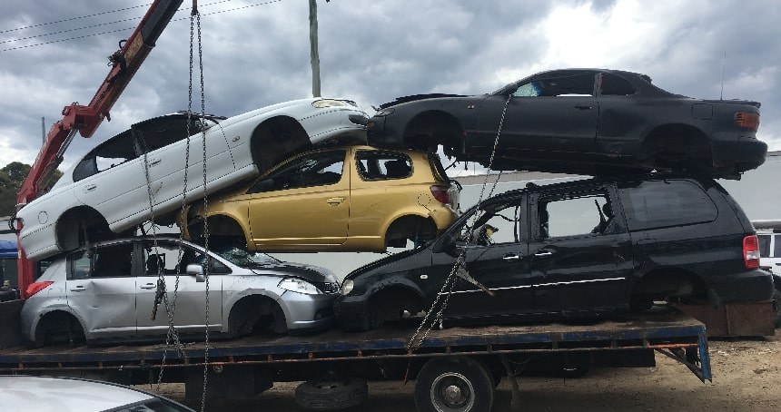 unwanted car removal Newcastle